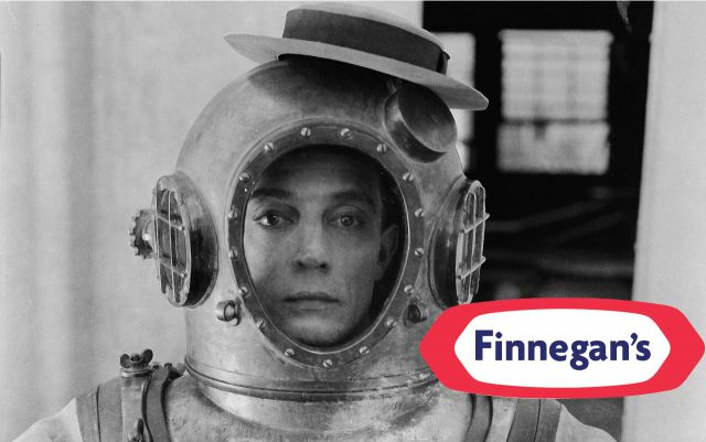 📷️ Buster Finnegan in the Finnegan's Deep Sea Diver C Model (Photo supplied by the Finnegan's Corporation.)